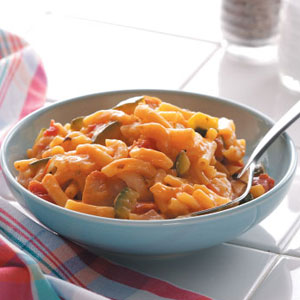 italian mac and cheese with chicken