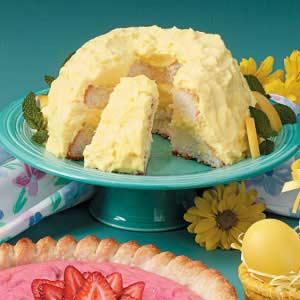 Lemon angel cake taste of home forumfinder Gallery