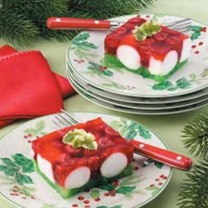 Christmas Jello Recipes.Red N Green Gelatin