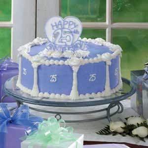 Anniversary Cake Recipe | Taste of Home