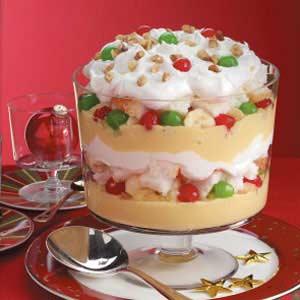 christmas trifle recipe taste of home