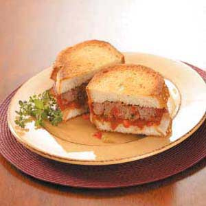 Italian meat loaf sandwiches recipe taste of home forumfinder Images