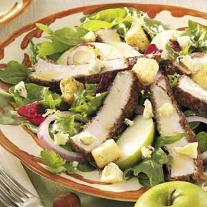 Honey Mustard Turkey Salad