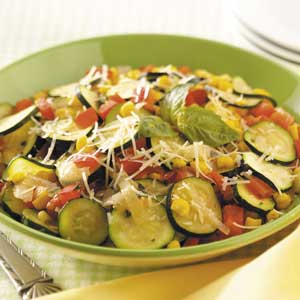 Fast italian vegetable skillet recipe taste of home forumfinder Images