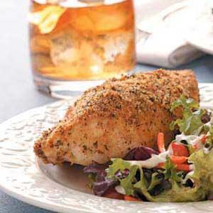 Parmesan crust chicken recipe taste of home forumfinder Images