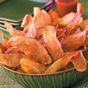 fiery potato chips recipe taste of home