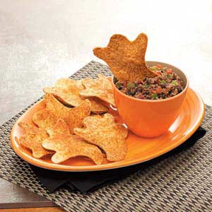 boorrific black bean dip with chips recipe taste of home