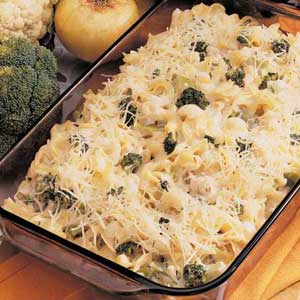 Creamy Vegetable Pasta Bake Recipe