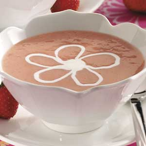 Strawberry dessert soup recipe taste of home forumfinder Images
