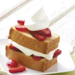 Strawberry Pound Cake Dessert Taste of Home