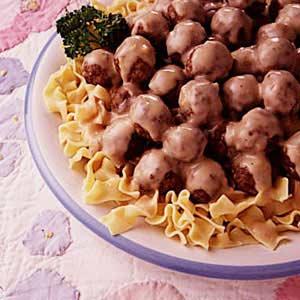 Norwegian meatballs taste of home forumfinder Choice Image