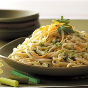 Zucchini Pasta Recipe Taste Of Home