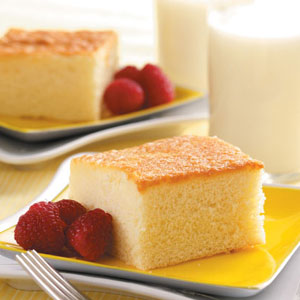 Hot Milk Cake Recipe