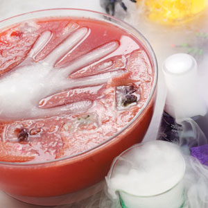 ghoul punch recipe taste of home