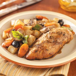 Chicken Breasts With Veggies Recipe Taste Of Home