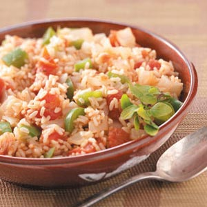 Simple spanish rice recipe taste of home forumfinder Image collections