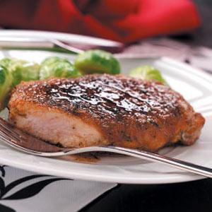 Quick Apple Glazed Pork Chops Recipe Taste Of Home