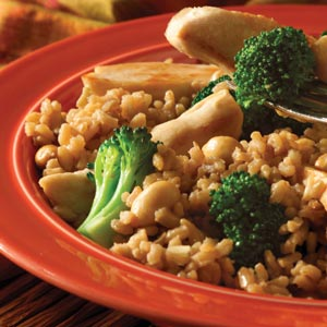 Easy Teriyaki Chicken & Brown Rice Dinner image