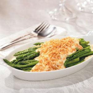Asparagus Parmesan Au Gratin image