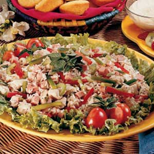 Summertime main dish salad recipe taste of home forumfinder Image collections