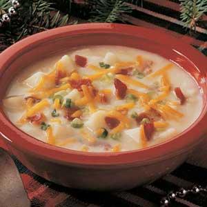Baked Potato Soup Recipe Taste Of Home
