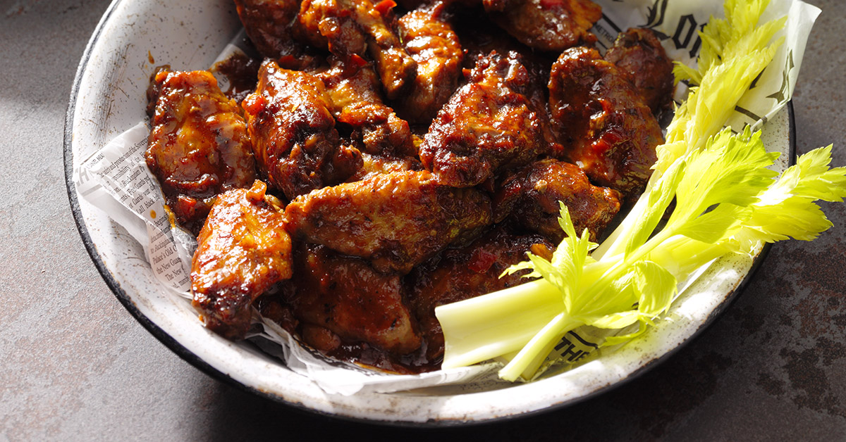 Sweet & Spicy Chicken Wings