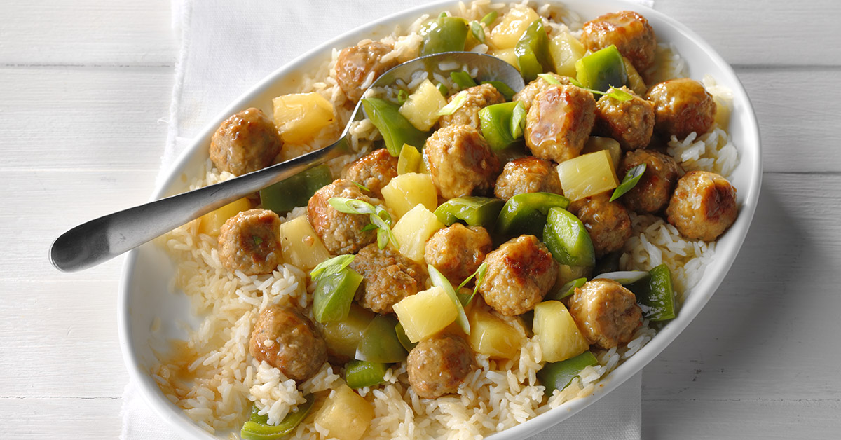 Easy Sweet-and-Sour Meatballs