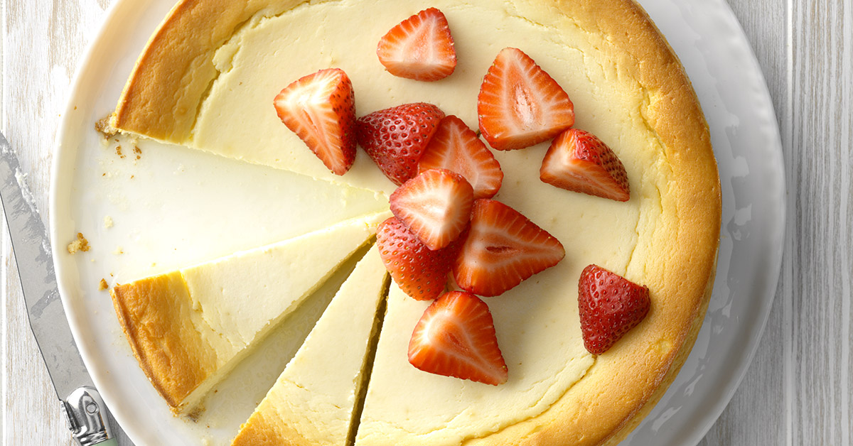 Runner Up: Yogurt-Ricotta Cheesecake