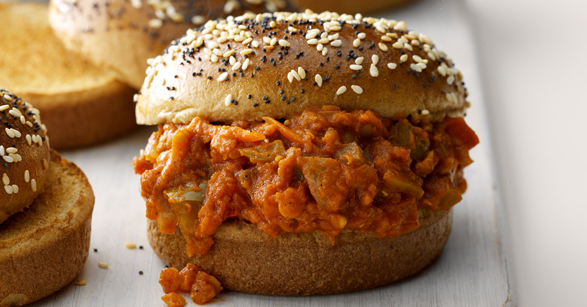 Runner Up: Lentil Sloppy Joes
